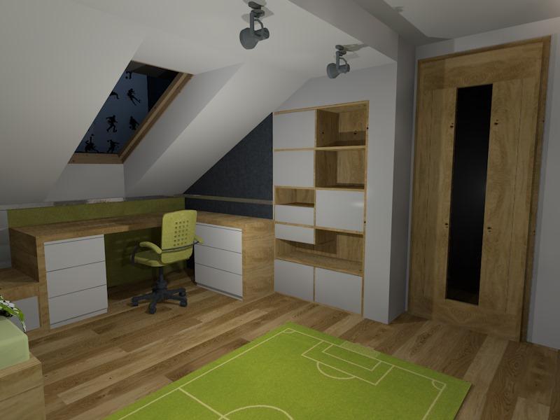 ma y pok j na poddaszu najlepsze pomys y na wystr j domu i inspiracje meblami. Black Bedroom Furniture Sets. Home Design Ideas