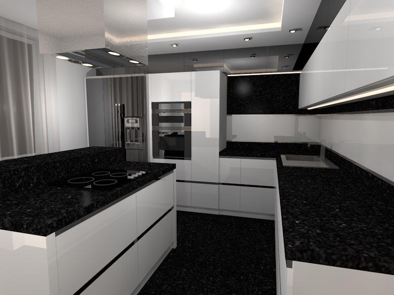 kuchnia czarno biała 4 (7)  Prototyp